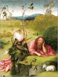 Hieronymus Bosch - John the Baptist in Meditation