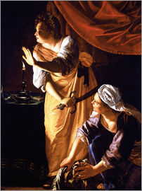 Artemisia Gentileschi - Judith with head of Holofernes