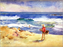 Joaquin Sorolla y Bastida - Boy on the Sand