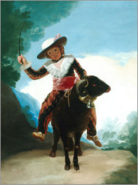 Francisco José de Goya - Boy on a Ram