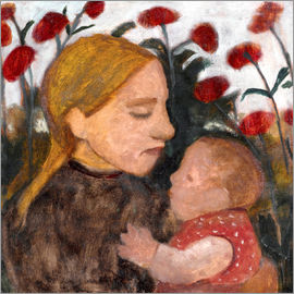 Paula Modersohn-Becker - Young woman with child