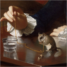 John Singleton Copley - Boy with a Flying Squirrel (Detail)