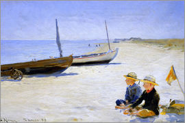 Peder Severin Kroyer - Boys on Skagen beach