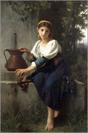 Elizabeth Jane Gardner Bouguereau - Young Girl at the Well