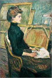 Henri de Toulouse-Lautrec - Young woman in the studio