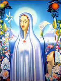 Joseph Stella - Virgin of the Rose and Lily