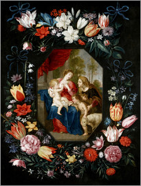 Jan Brueghel d.J. - The Virgin Mary and the Christ Child