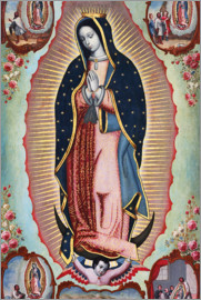 Nicolas Enriquez - Virgin of Guadalupe
