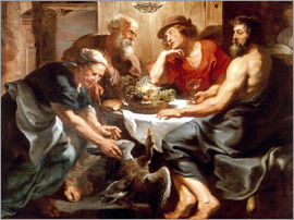 Peter Paul Rubens - Jupiter and Mercury with Philemon and Baucis