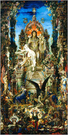 Gustave Moreau - Jupiter and Semele