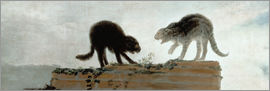 Francisco José de Goya - Cats fighting