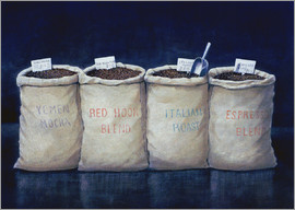 Lincoln Seligman - Coffee Sacks, 1990