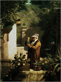 Carl Spitzweg - Cactus friend