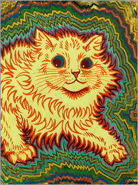 Louis Wain - Electric Cat