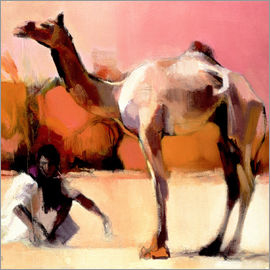 Mark Adlington - Camel and cameleer