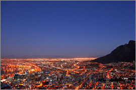 wiw - Cape Town at night, South Africa