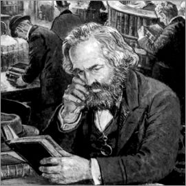 English School - Karl Marx