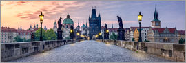 Jan Christopher Becke - Charles Bridge in Prague Panorama