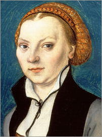 Lucas Cranach d.Ä. - Katharina von Bora, wife of Martin Luther