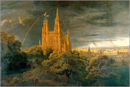 Karl Friedrich Schinkel - Cathedral (river town)
