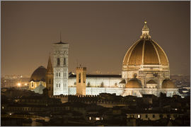 Cathedral of Florence at night