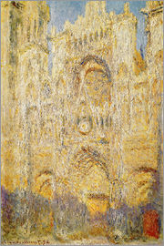 Claude Monet - Rouen Cathedral, at noon
