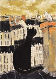JIEL - Cat and dove in Paris