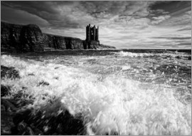 Martina Cross - CastlKeis Castle, Wick, Scotland