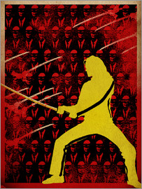 Albert Cagnef - KillBill  Poster Lounge