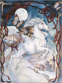 Jody Bergsma - Child Riding On Horse