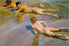 Joaquin Sorolla y Bastida - Children at the beach