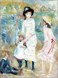 Pierre-Auguste Renoir - Children on the Seashore