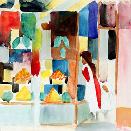 August Macke - Children at the Greengrocer's I