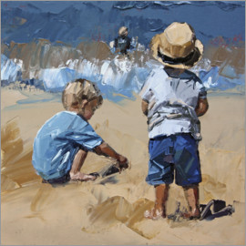 Claire McCall - Children in the sand