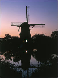 Thonig - Kinderdijk, mill, windmill
