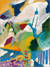 Wassily Kandinsky - Church in Murnau, 1910