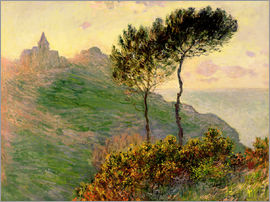 Claude Monet - The church of Varengeville