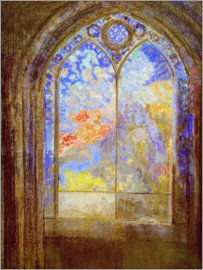 Odilon Redon - Church window