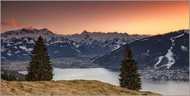 PhotoArt Hartmann - Kitzsteinhorn sunset