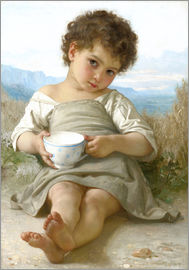 William Adolphe Bouguereau - A little break