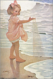 Jessie Willcox Smith - Little drops of water