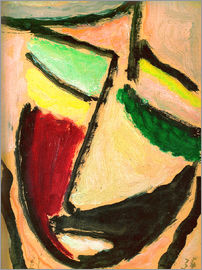 Alexej von Jawlensky - Small abstract head