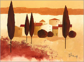 Franz Heigl - Small mediterranean village