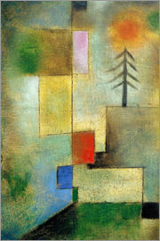 Paul Klee - Small pine image