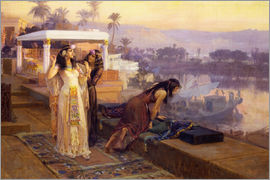 Frederick Arthur Bridgman - Cleopatra on the terraces of philae