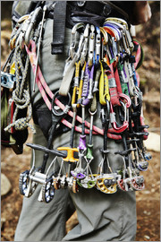 Roderick Chen - Climbing equipment in the Adirondacks