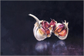 John Francis - Garlic on black