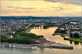 Fine Art Images - Deutsches Eck Koblenz