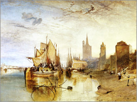 Joseph Mallord William Turner - Cologne, the arrival of a post boat