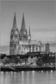 Michael Valjak - Cologne Cathedral black-and-white